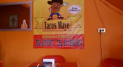Photo of Taco Place Tacos Maye at Av. República Mexicana, San Nicolás de los Garza, Mexico