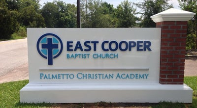 Photo of Church East Cooper Baptist Church at 361 Egypt Rd, Mt Pleasant, SC 29464, United States