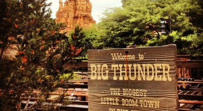 Photo of Theme Park Ride / Attraction Big Thunder Mountain Railroad at Frontierland, Anaheim, CA 92802, United States