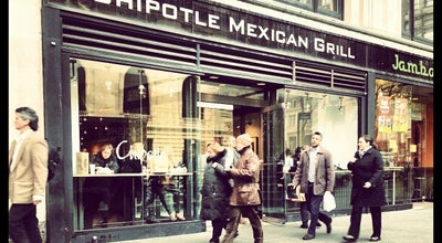 Photo of Mexican Restaurant Chipotle at 9 W 42nd St, New York, NY 10110, United States