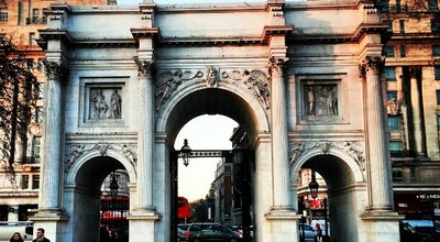 Photo of Monument / Landmark Marble Arch at Oxford St, Westminster W1H, United Kingdom