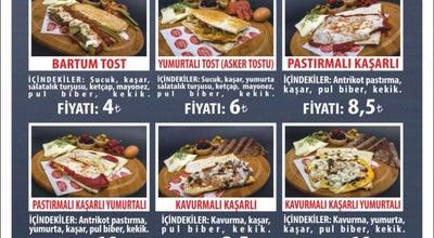 Photo of Food Truck Bartum Tost at Hükümet Caddesi No 16 Tarihi Hamamın Karşısı, Bursa 16800, Turkey