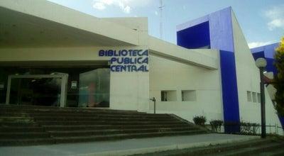 Photo of Library biblioteca publica central Estatal at Mexico