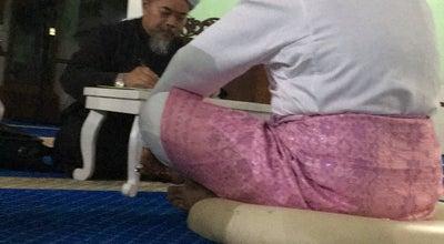 Photo of Mosque Masjid Jamek Sungai Abong at Muar, Malaysia