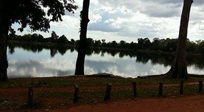 Photo of Historic Site Srah Srang at Angkor Complex, Siem Reap, Cambodia