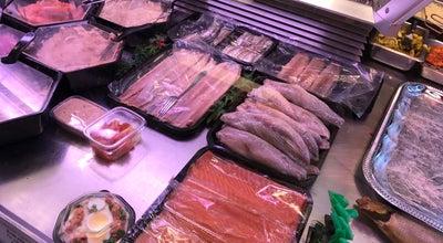 Photo of Fish Market Vishandel Centrum at Haarlemmerdijk 4, Amsterdam 1013 JC, Netherlands