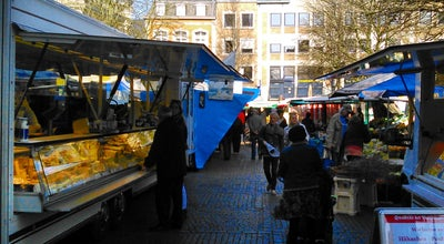 Photo of Farmers Market Wochenmarkt at Markt, Germany