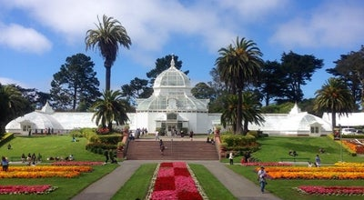 Photo of Garden Conservatory of Flowers at 100 J F Kennedy Dr, San Francisco, CA 94118, United States