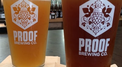 Photo of Brewery Proof Brewing Company at Railroad Square at 644 Mcdonnell Dr, Tallahassee, FL 32310, United States