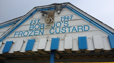 Photo of Ice Cream Shop Bob Jo's Frozen Custard at 4071 Quarry St., Wyandotte, MI 48192, United States