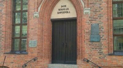 Photo of History Museum Muzeum Okręgowe w Toruniu Dom Mikołaja Kopernika at Kopernika 15/17, Toruń 87-100, Poland