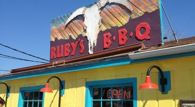 Photo of American Restaurant Ruby's BBQ at 512 West 29th Street, Austin, TX 78705, United States