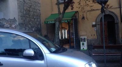 Photo of Ice Cream Shop Antica Latteria at Via Della Verità 25, Viterbo 01100, Italy