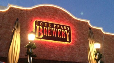 Photo of Brewery Four Peaks Brewing Company at 1340 E 8th St, Tempe, AZ 85281, United States