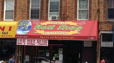Photo of Caribbean Restaurant Trinciti Roti shop at 11105 Lefferts Blvd, South Ozone Park, NY 11420, United States