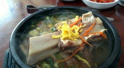 Photo of Korean Restaurant 해양산국밥 at 삼성6길 10, 양산시, South Korea