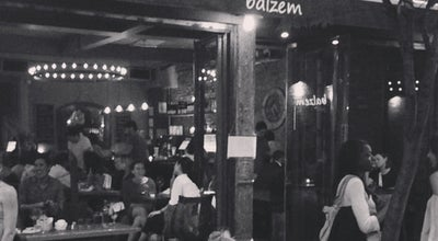 Photo of Mediterranean Restaurant Balzem Mediterranean Cuisine & Wine Bar at 202 Mott St, New York, NY 10012, United States