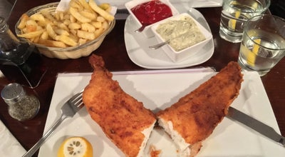 Photo of Seafood Restaurant North Sea Fish at 7-8 Leigh St, Bloomsbury WC1H 9EW, United Kingdom