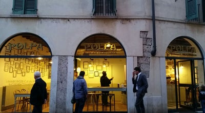 Photo of Burger Joint Polpa Burger Trattoria Brescia at Contrada Del Carmine, 1/c, Brescia 25122, Italy