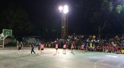 Photo of College Basketball Court สนามบาสเก็ตบอล at Si Racha, Thailand