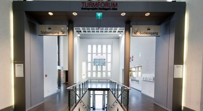 Photo of Museum Turmforum Bahnprojekt Stuttgart–Ulm at Arnulf-klett-platz 2, Stuttgart 70173, Germany
