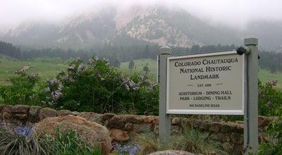 Photo of Park Colorado Chautauqua National Historic Landmark at 900 Baseline Rd, Boulder, CO 80302, United States
