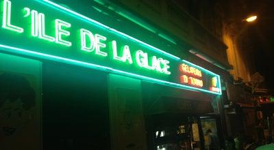 Photo of Ice Cream Shop L'Île de la Glace at Cannes, France