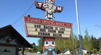 Photo of Diner Totem Family Dining at 4410 Rucker Ave, Everett, WA 98203, United States