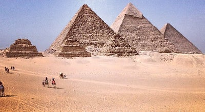 Photo of Historic Site Great Pyramids of Giza at Tag El Dewal, Embaba, Al-Jizah, Egypt