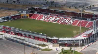 Photo of Soccer Stadium Toyota Field at 5103 David Edward Dr, San Antonio, TX 78233, United States
