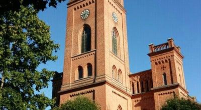 Photo of Church Vaasan kirkko | Trefaldighetskyrkan at Kirkkopuistikko, Vaasa 65100, Finland