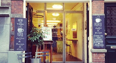 Photo of Clothing Store Koko Coffee & Design at Oudezijds Achterburgwal 145, Amsterdam, Netherlands