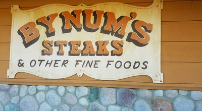 Photo of American Restaurant Bynum's Steakhouse at 25 Sunnyside Dr, Martinsville, IN 46151, United States