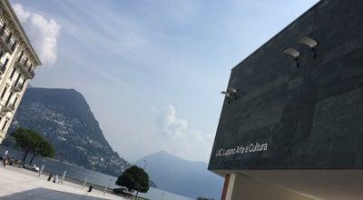 Photo of Art Museum LAC at Lugano, Switzerland