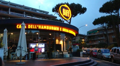 Photo of Burger Joint Biff at Viale Isacco Newton, 68, Roma 00151, Italy