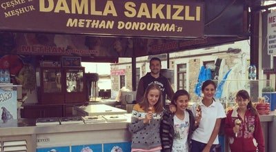 Photo of Ice Cream Shop Methan Dondurma at Cesme Marina, Çeşme, Turkey