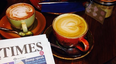 Photo of Coffee Shop Harris + Hoole at 49 North St, Guildford GU1 4TE, United Kingdom