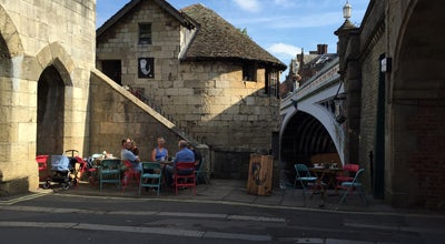Photo of Coffee Shop The Perky Peacock at Postern Tower, Tanners Moat, York YO1 6HU, United Kingdom