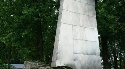 Photo of Monument / Landmark Памятник лётчику-космонавту В. Н. Волкову at Стадион «металлист», Королев, Russia