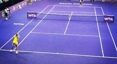 Photo of Tennis Court FCT - Federação Catarinense de Tênis at Av. Gov. Irineu Bornhausen, S/nº, Florianópolis 88025-200, Brazil