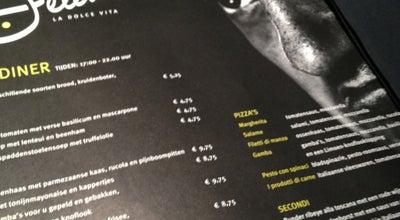Photo of Italian Restaurant Fellini City Lounge at Wilhelminaplein 20, Leeuwarden 8911 BS, Netherlands