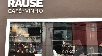 Photo of Coffee Shop Rause Café e Vinho at Al. Dr. Carlos De Carvalho, 696, Curitiba, Brazil