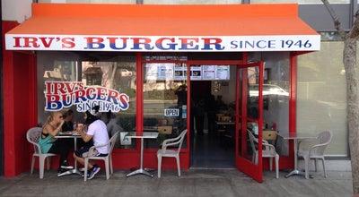 Photo of Burger Joint Irv's Burgers at 7998 Santa Monica Blvd, West Hollywood, CA 90046, United States