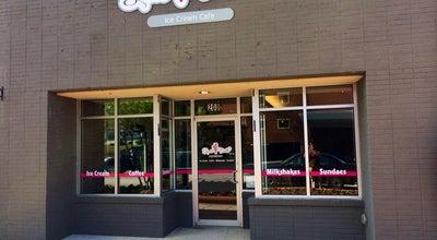 Photo of Ice Cream Shop Sweet Tooth Ice Cream Cafe at 178 E Crogan St, Lawrenceville, GA 30046, United States