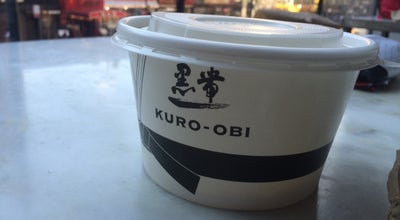 Photo of Ramen / Noodle House Kuro-Obi at 700 8th Ave, New York, NY 10036, United States