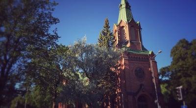 Photo of Church Messukylän kirkko at Messukylänkatu 54, Tampere 33700, Finland