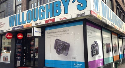 Photo of Other Venue Willoughby's Photo Supply at 298 5th Ave, New York, NY 10001