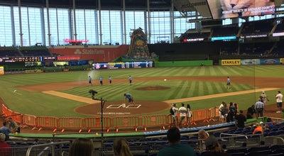 Photo of Baseball Field Marlins Park Club Level at 501 Marlins Way, Miami, FL 33125, United States