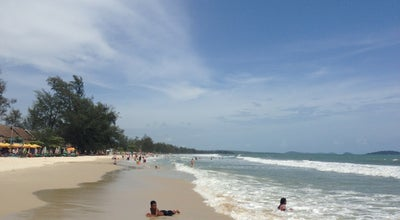 Photo of Beach Ocheuteal Beach-Otres Beach at Beach Road, Sihanoukville, Cambodia