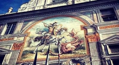 Photo of Historic Site Palazzo San Giorgio at Piazza Caricamento, Genova, Italy